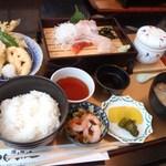 お食事処日本海 - 昼の和定食 1000円