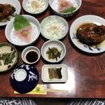 松代屋旅館 - 夕食 鯉など