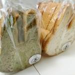 ベーカリー兎座LEPUS - 料理写真:迷彩ウサギ食パン     ¥500、   ウサギ食パン     ¥300
