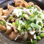 湯村食堂 - もつ煮 アップ