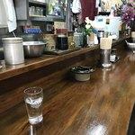 湯村食堂 - カウンター