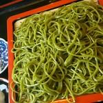 喜心庵 - 料理写真:茶そば