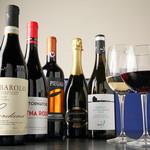 La muto PIZZA&TRATTORIA - ワインも数多く取り揃えております。