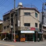 大阪ハラールレストラン - 店外観(角地)