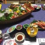 玉島荘 - 料理写真:晩御飯
