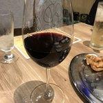 白金魚 プラチナフィッシュ 新橋鉄板バル - 赤ワイン