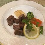 勝 - 【わんぱくステーキセット/\1,500】伊萬里牛サイコロステーキ(100g)