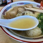 85694977 - 天ぷらラーメンのスープ