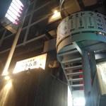 立ち飲み居酒屋銀座ドラム缶 - 雑居ビルの2Fで!