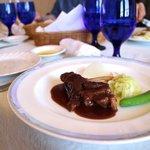 アクア オリビン - 牛肉の煮込み 季節野菜添え