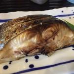 島食DOみやんだ - 料理写真:分厚くてふわっふわなサワラ