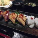85697955 - 穴子寿司御膳(限定15食) 1,620円