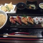 85697970 - 穴子寿司御膳(限定15食) 1,620円