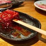 とんつう - 肉のホームランバ880円