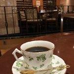 ホシヤマ珈琲店 - イギリス エインズレーのコーヒーカップ