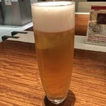 ガンボ&オイスターバー - 生ビール美味しい♡