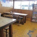 8570257 - お店はカウンター席とテーブル席、奥に小上がり席といったこれぞ定食屋といった造りになってました。