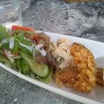 ベジカフェ - ワンプレートランチ(サラダとおかず)