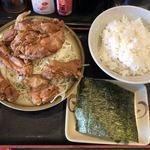 長浜ラーメン 一番 - 料理写真:2018年5月11日  唐揚げ定食