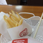 ドムドムハンバーガー - 塩気が程好いポテト