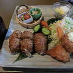 85704994 - 肉巻き・チキン南蛮定食