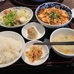 85709276 - 1450円。麻婆豆腐はなかなか。