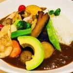 85709316 - 『野菜とチキンのカレーセット』                       税抜1,150円