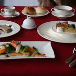 レストラン鳥居平 - コース一例