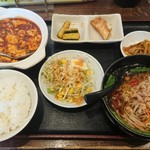 天福 - 料理写真:ある日の日替わりランチ