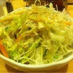 洋食屋 双平 - サラダどか盛り。