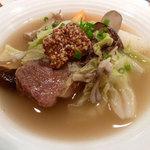 レストラン&ライブ ポコ - 牛ほほコラーゲンスープ煮