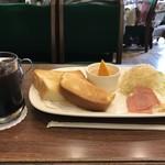 元町サントス - モーニングサービスAをいただきました(2018.5.12)