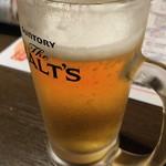 馬焼肉酒場 馬太郎 - 生ビール