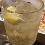 馬焼肉酒場 馬太郎 - おみくじハイボール 中吉