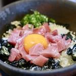 竹亭 - 海鮮どんぶり(大間の本鮪)