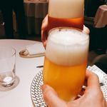 L'ecrin - ビールで乾杯♪( ´▽`)