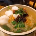 Sheraton Macao Hotel, Cotai Central - とある日の麺。好きなものを入れて茹でてくれます。