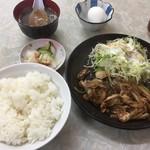 中華料理絋月 - スタミナ焼肉ランチ