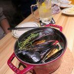 85716719 - ムール貝の白ワイン蒸し