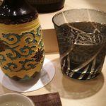 85716807 - 日本酒 作(ザク)・槐山一滴水 カイザンイッテキスイ (純米大吟醸・三重県) 1合 2,000円 2018年05月