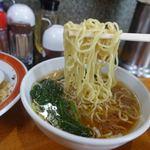 芳月園 - 高菜炒飯半ラーメン 900円