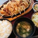 龍宝 - 料理写真:焼肉定食♪