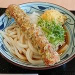 丸亀製麺 - ちく玉磯辺ぶっかけ(大、冷)