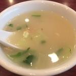 85719550 - 絶妙な味付けのスープ