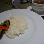 石垣牛と島料理 佐々木勝 - ライス