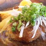 キッチンニューヨーク - 週替りランチ:和風ハンバーグです。