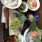 鉢屋 - 鮮魚 刺身定食 税込950円