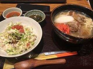 竹富島 - ソーキそば定食