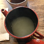 夛左ヱ門 - 蕎麦湯