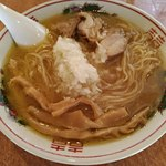東一 - 中華そば麺大盛780円